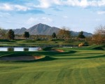 Hole #4 at the ASU Karsten Golf Course in Tempe, Arizona