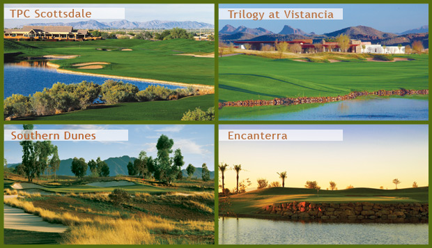 "Arizona Golf's ""Featured Foursome"" from the Arizona Golf Authority"
