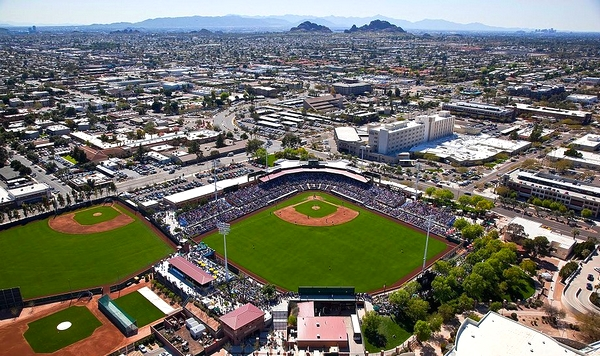 scottsdale-cactus-league-baseball-stadium-photograph